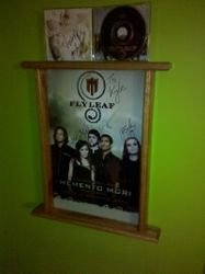 Autographed Poster Frame