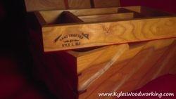 Hand Carved Cherry Jewelry Box