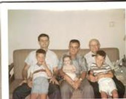 4 Generations of Johnston Males