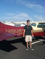Connor Gust First Solo