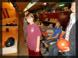Evan all smiles