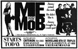 Me and the Mob newspaper ad