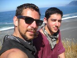 Me and my friend Kurtis