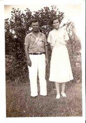 Johnie Carawan & Sarah Sally Beacham Carawan