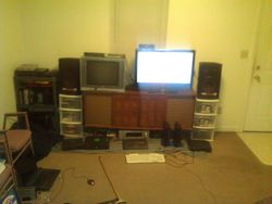 Front room setup
