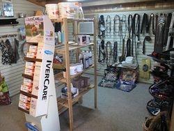 Fully stocked tack and supply shop!