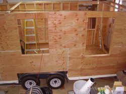 Sheathing is done