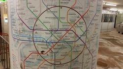Mapa metro linija