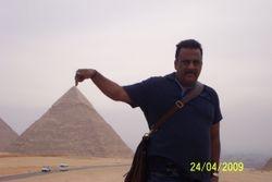 Balaram Koneru - visit to Cairo