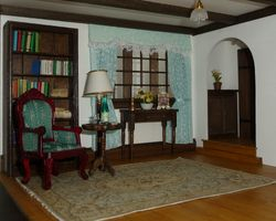 The Living Room/Kitchen