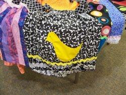 a darling bird pocket dress