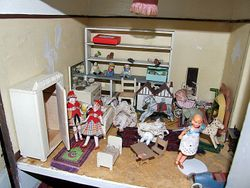Childrens bedroom of Lines House