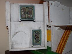 Inner Windows and Tin Stair Carpet...