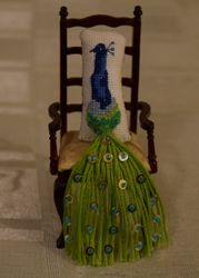 The Peacock Throne...