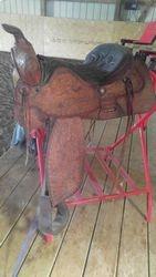 15 inch western saddle.