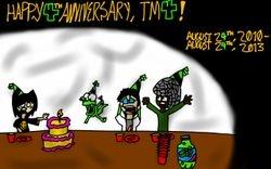 TM4th Anniversary