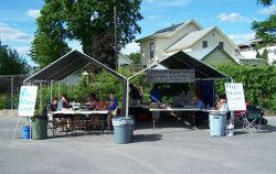 IRBC Fried Bread Dough ministry tents!