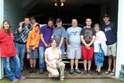 The group before we left.