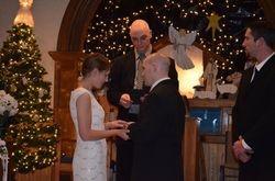 12/27/14 Wedding of Casey Isereau to Tim Horton
