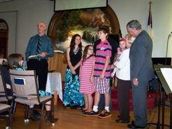 Dedication of Lily Grace Jones, 10/13/2013