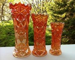 Derby aka Pinwheel vases