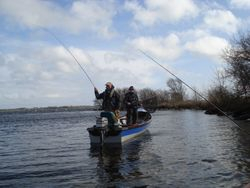 Buzzer fishing on corrib