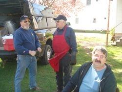 Paul Leonard, Tim Rosenburg, and Tim Conley