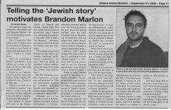 Ottawa Jewish Bulletin Profile