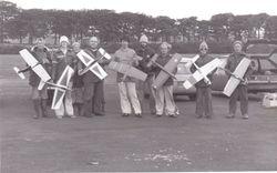 Club 20 racers old air field 1979