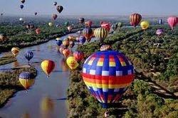 Balloons over the Rio Grande