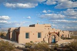 New contruction Pueblo style