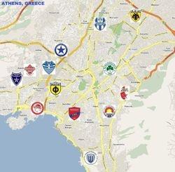 ATHENS, GREECE (Metropolitan area. Population: 3,089,698)