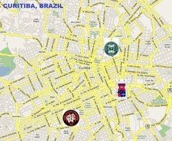 CURITIBA, BRAZIL (population: 3,209,980)