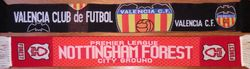 1980: City Ground. Attendance: 12.463 * NOTTINGHAM FORREST - VALENCIA: 2-1. Estadio Luis Casanova. Attendance: 29.038 * VALENCIA - NOTTINGHAM FORREST: 1-0