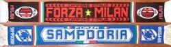 1990: Stadio Luigi Ferraris. Attendance: 25.000 * SAMPDORIA - AC MILAN: 1-1. San Siro. Attendance: 25.000 * AC MILAN - SAMPDORIA: 2-0