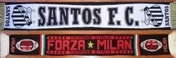 1963: San Siro, Milan. Attendance: 51.917 * AC MILAN - SANTOS FC: 4-2. Maracana, Rio de Janeiro. Attendance: 150.000 * SANTOS FC - AC MILAN: 4-2, 1-0 (replay)