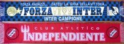 1964: La Doble Visera, Avellaneda. Attendance: 65.000 * CA INDEPENDIENTE - INTERNAZIONALE: 1-0. San Siro, Milan. Attendance: 50.164 * INTERNAZIONALE - CA INDEPENDIENTE: 2-0