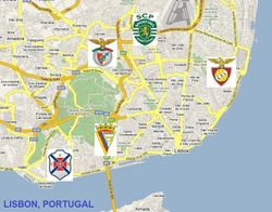 LISBON, PORTUGAL  (Metropolitan area. Population: 3,035,000)