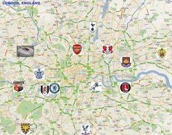 LONDON, ENGLAND (population: 13,614,409)