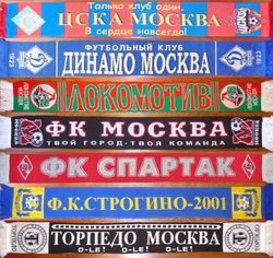 CLUBS FROM MOSCOW