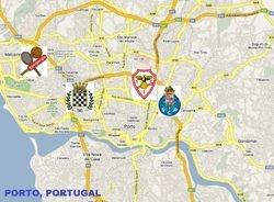 PORTO, PORTUGAL  (Metropolitan area. Population: 1,800,00)