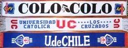 CLUBS FROM SANTIAGO de CHILE