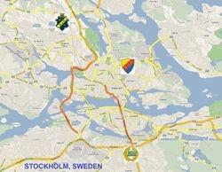 STOCKHOLM, SWEDEN (population: 871.952 )