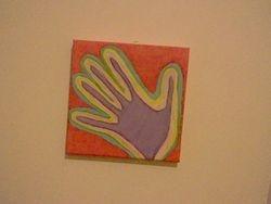 Rocco's hand
