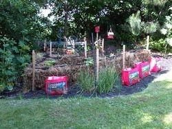 Straw Bail Gardening