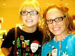 Glasses and Christmas sweaters