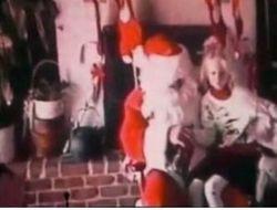 Taylor with Santa