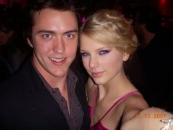 Taylor with Clayton Collins
