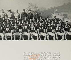 Taylor's dad on the jr. varsity football team