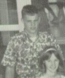Taylor's dad in 10th grade close up